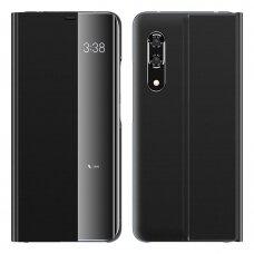 Akcija! Huawei p20 pro atverčiamas išmanus dėklas New Sleep Case juodas