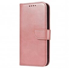 Akcija! Samsung galaxy A32 4g dėklas Magnet Case elegant bookcase rožinis