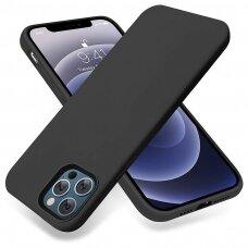 Iphone 13 Pro Max dėklas Silicon juodas