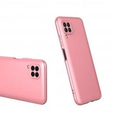 Akcija! huawei p40 lite HURTEL dėklas dvipusis 360 plastikas rožinis