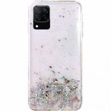 Akcija! Huawei P40 Lite dėklas Wozinsky Star Glitter skaidrus