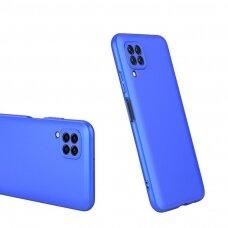 Akcija! huawei p40 lite HURTEL dėklas dvipusis 360 plastikas mėlynas