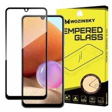 Akcija! samsung galaxy a32 4g lenktas grūdintas apsauginis stiklas wozinsky H Pro 5D FULL GLUE juodais kraštais