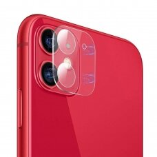 AKCIJA! Iphone 11 grūdinto stiklo kameros apsauga skaidri