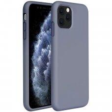Akcija! Iphone 11 pro  dėklas Liquid Silicone levandinė