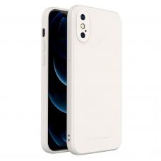 Iphone Xs Max dėklas Wozinsky Color Case Baltas