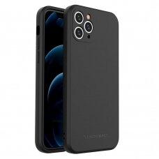 Iphone 11 Pro Max dėklas Wozinsky Color Case juodas