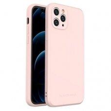 Iphone 11 Pro dėklas Wozinsky Color Case rožinis