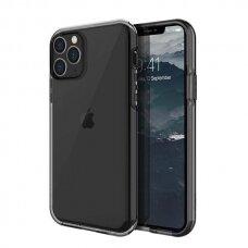 Akcija! iPhone 11 Pro UNIQ Clarion nugarėlė skaidri juoda
