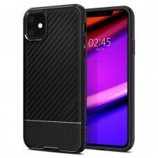 Akcija! Iphone 11 aukštos kokybės dėklas Spigen Core Armor Matte Juodas