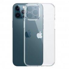 akcija! iphone 12 / 12 pro dėklas Joyroom Crystal  Permatomas
