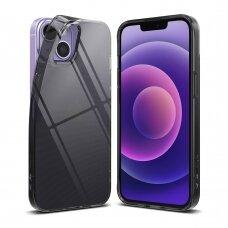 akcija! iphone 13 dėklas Ringke Air TPU juodas