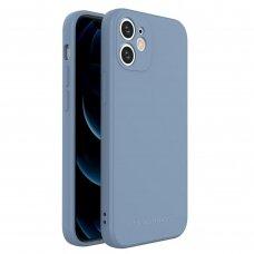 Akcija! iPhone 12 mini dėklas Wozinsky Color Case silikonas mėlynas
