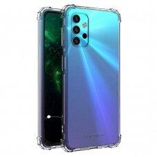 Samsung Galaxy NOTE20 dėklas Wozinsky ANTISHOCK Skaidrus SILIKONINIS