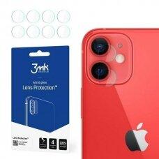 Akcija! iPhone 12 mini kameros apsauga 4 vnt. 3MK LENS PROTECT