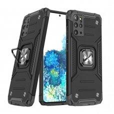 Akcija! Samsung Galaxy S20 apsauginis dėklas Wozinsky Ring Armor juodas