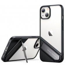 akcija! iphone 13 dėklas Ugreen Fusion Kickstand juodas