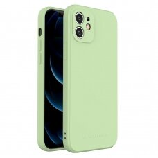 Iphone 12 Pro Max dėklas Wozinsky Color Case silikonas žalias