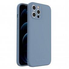 Iphone 12 Pro Max dėklas Wozinsky Color Case silikonas mėlynas