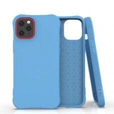 Iphone 12 Pro Max SOFT COLOR lankstus dėklas mėlynas