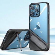 akcija! iphone 13 Pro dėklas Ugreen Fusion Kickstand juodas