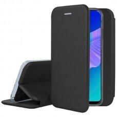 Iphone 13 mini atverčiamas dėklas Book elegance odinis juodas