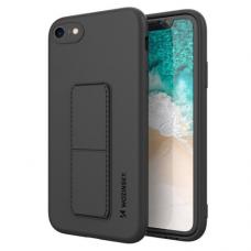 Iphone 6 dėklas WOZINSKY KICKSTAND juodas
