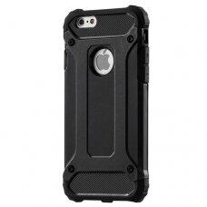 Akcija! iPhone 6s / 6 dėklas Hybrid Armor juodas