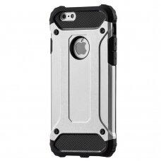 Iphone 6s / 6 dėklas Hybrid Armor sidabrinis