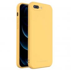 Iphone 7/8 Plus dėklas Wozinsky Color Case geltonas