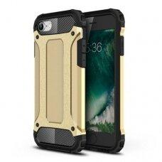 Iphone 7/8/SE 2020 dėklas Hybrid Armor  TPU+PC plastikas auksinis