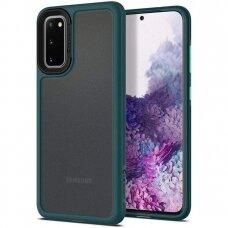 """Akcija! Samsung Galaxy dėklas """"Spigen Ciel Color Brick"""" tamsiai žalias"""