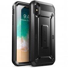 Akcija! Iphone X/Xs dėklas SUPCASE UNICORN BEETLE PRO juodas