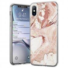 Akcija!  iPhone 8 Plus / iPhone 7 Plus Wozinsky Marble TPU rožinis