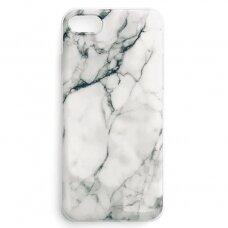Akcija!  iPhone 8 Plus / iPhone 7 Plus Wozinsky Marble TPU baltas
