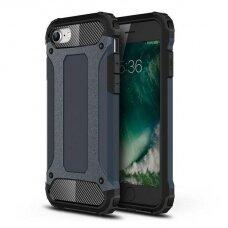 Iphone 7/8/SE 2020 dėklas Hybrid Armor  TPU+PC plastikas mėlynas