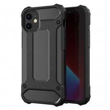 Iphone 12 mini  Hybrid Armor  TPU+PC plastikas juodas