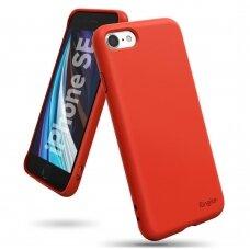 Akcija! IPhone SE 2020 dėklas Ringke Air S raudonas