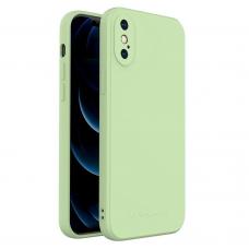 Iphone XS dėklas Wozinsky Color Case silikonas žalias