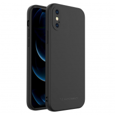 Iphone Xs Max dėklas Wozinsky Color Case juodas