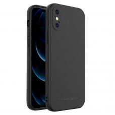 Akcija! iphone Xs Max dėklas Wozinsky Color Case juodas