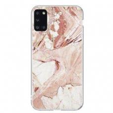 Samsung Galaxy A51 nugarėlė Wozinsky Marble TPU rožinis