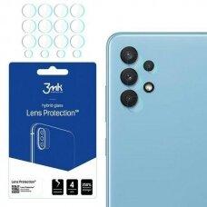 Akcija! Samsung galaxy A32 4g kameros apsauga 4 vnt. 3MK lens protection