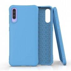 Samsung galaxy a70 dėklas Soft Color mėlynas
