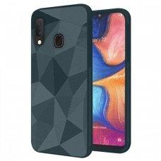 Akcija! Samsung galaxy A20e Geometric Shine TPU žalias