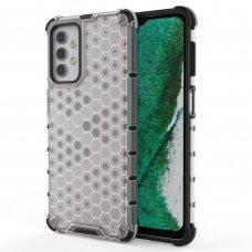 Akcija! Samsung Galaxy A32 5G plastikinis dėklas HONEYCOMB skaidrus