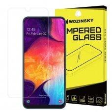 Akcija! samsung galaxy a50 grūdinto stiklo ekrano apsauga Wozinsky iki išlenkimo