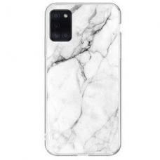 Samsung Galaxy A51 nugarėlė Wozinsky Marble TPU Baltas