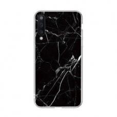 Akcija! Samsung Galaxy A50 nugarėlė Wozinsky Marble TPU juoda