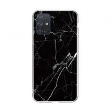 Samsung Galaxy A51 nugarėlė Wozinsky Marble TPU juoda